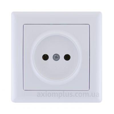 Изображение IEK серии Bolero РС01-00-0-ББ белого цвета
