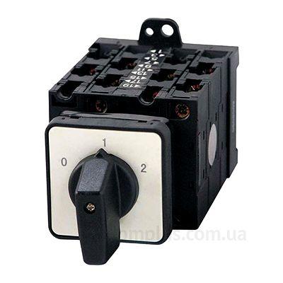 Кулачковый (5р) 3-позиционный поворотный переключатель на 32А E.Next e.industrial.sb.0-1-2.5.32 (i0360018)