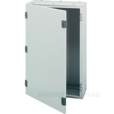 Фото серый монтажный шкаф Hager ORION Plus FL112A размер 500х400х200мм
