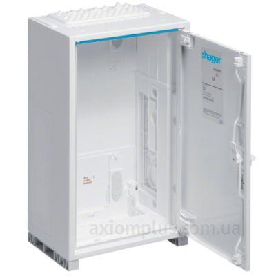Фото белый монтажный шкаф Hager Univers FP41SN2 размер 650х300х205мм