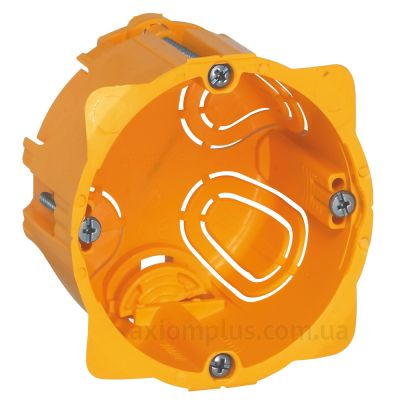 Желтый подрозетник Legrand Batibox