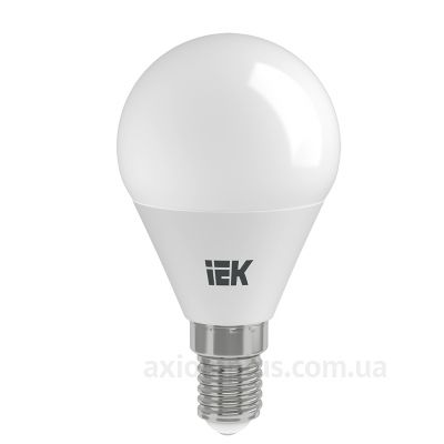 Фото лампочки IEK Alfa артикул LLA-G45-8-230-40-E14