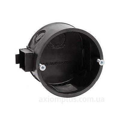 Черный подрозетник IEK КМ40001
