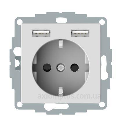 Изображение Schneider Electric из серии Merten System M MTN2366-0325 белого цвета