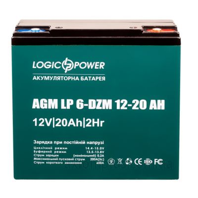 LogicPower LP6-DZM-20 (20А/ч) фото