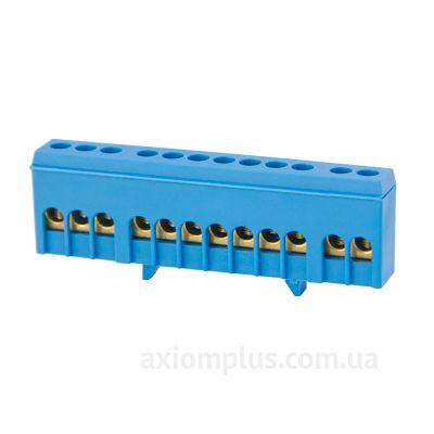 Шина (N) e.bsi.pro.1.12 63А (12 контактов контактов) (синий цвет) фото