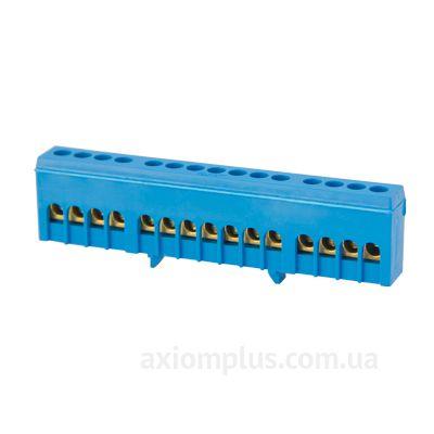 Шина (N) e.bsi.pro.1.15 63А (15 контактов контактов) (синий цвет) фото
