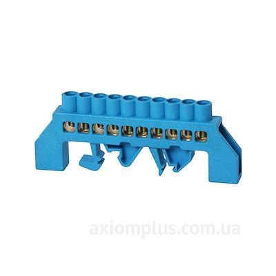 Шина (N) e.bsi.pro.2.10 63А (10 контактов контактов) (синий цвет) фото