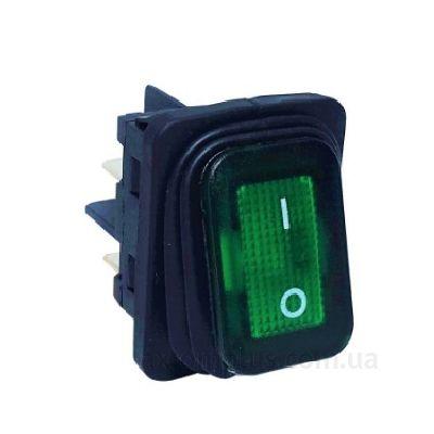 Кнопка EMAS A54B1Y11 зеленого цвета
