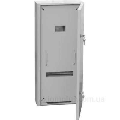 Фото серый монтажный шкаф IEK ПР 1-0-74 размер 900х400х182мм