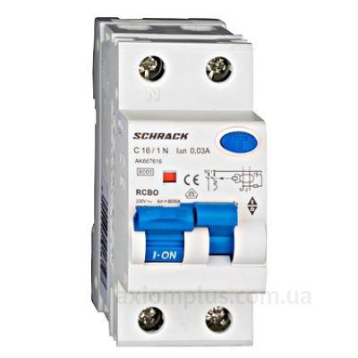 Schrack Technik АВДТ 6кА/30мА 1P+N 16A фото