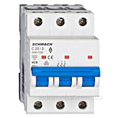 Фото Schrack Technik 6кА 3P 20А х-ка C