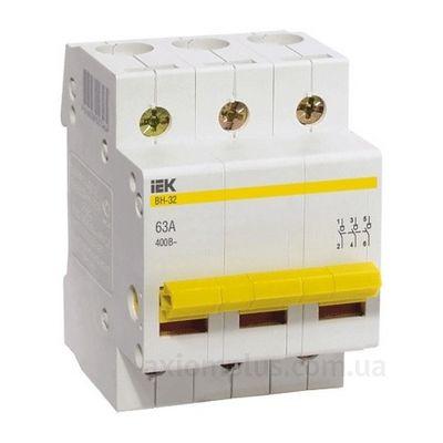 Выключатель нагрузки IEK MNV10-3-025 ВН-32 3Р (25A) (0-I)
