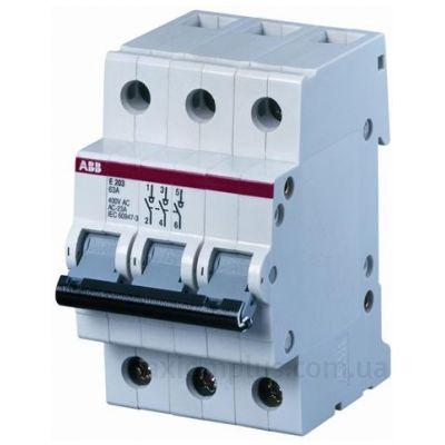 Выключатель нагрузки ABB 2CDE283001R0016 E203/16R (16А) (0-I)