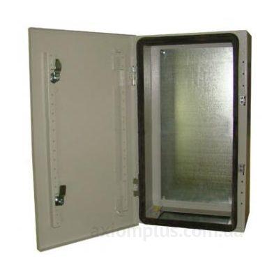 Фото серый монтажный шкаф Билмакс БМ 53У габариты 500х500х240мм