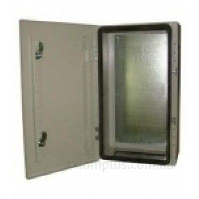 Фото серый монтажный шкаф Билмакс БМ 80У габариты 800х650х260мм