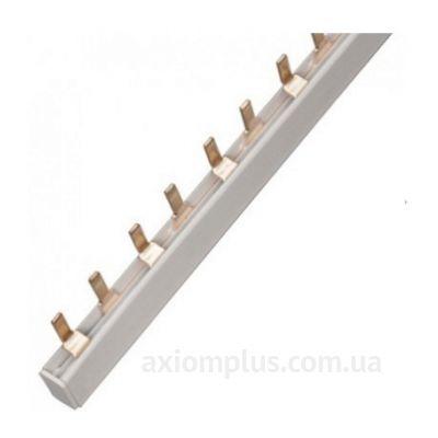 Шина PIN 1Р 100А (54 контакта контактов) (белый цвет) фото