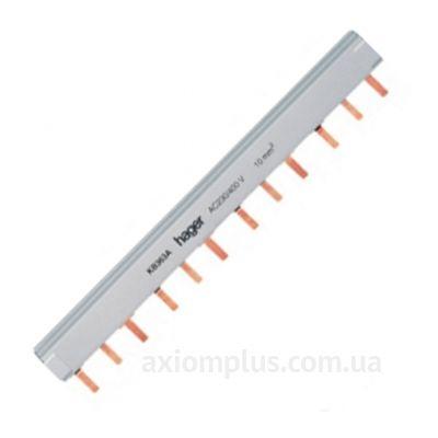 Шина PIN 3Р 63А (12 контактов контактов) (белый цвет) фото