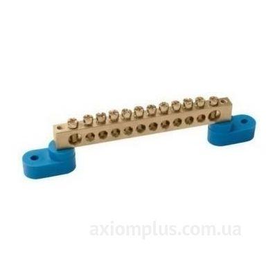 Шина (N) ШНИ-6х9-18-У2-C 100А (18 контактов контактов) (синий цвет) фото