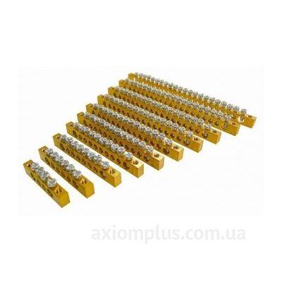 Шина (PEN) 6х9мм 16/2 100А (16 контактов контактов) фото