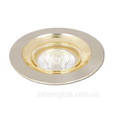 Круглый светильник хромированного цвета HDL16003R Delux фото
