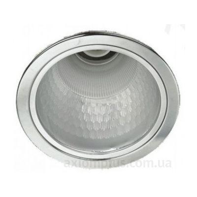 Круглый светильник белого цвета DF-140 White Delux фото