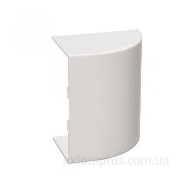 Заглушка кабель канала КМЗ 40х25 белого цвета фото
