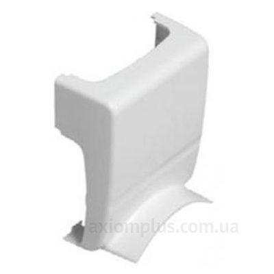 Адаптер кабель канала КМАП 80х20 белого цвета фото