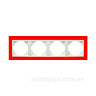 Изображение Efapel из серии Logus 90. Animato 90940 TVG красного цвета