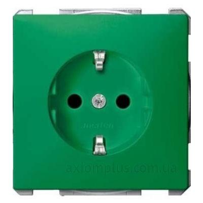 Фото Schneider Electric серии Merten Artec/Antique MTN2300-4004 зеленого цвета
