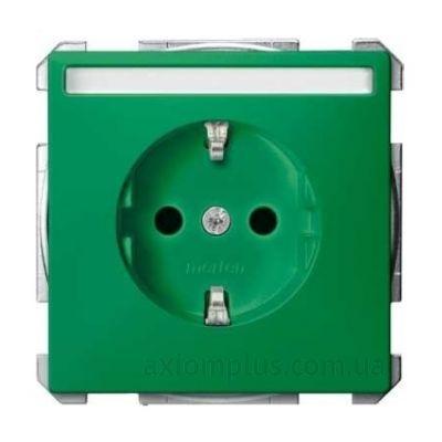 Фото Schneider Electric из серии Merten Artec/Antique MTN2302-4004 зеленого цвета