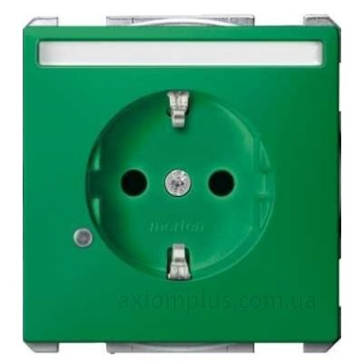 Фото Schneider Electric из серии Merten Artec/Antique MTN2303-4004 зеленого цвета