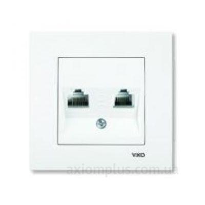 Фото Viko из серии Karre 90960035 белого цвета