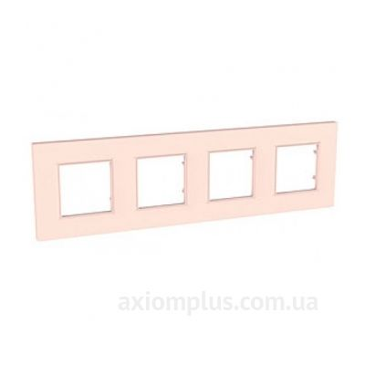 Фото Schneider Electric из серии Unica Quadro MGU4.708.37 жемчужно розового цвета