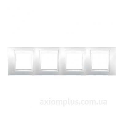 Фото Schneider Electric серии Unica Plus MGU6.008.18 белого цвета
