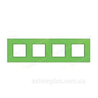 Изображение Schneider Electric серии Unica Quadro MGU4.708.28 зеленого цвета