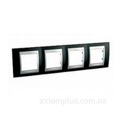 Фото Schneider Electric серии Unica Top MGU66.008.093 черного цвета