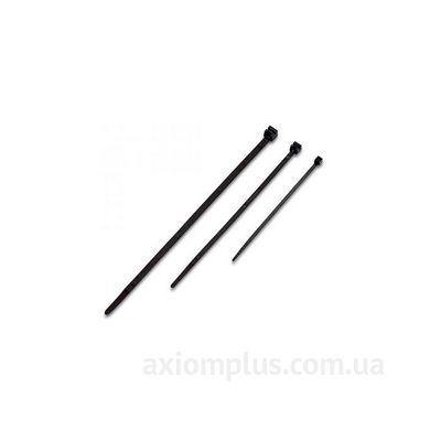 Стандартный полиамидный хомут DKC6.6. 12,5х225мм (50 шт) Черный фото
