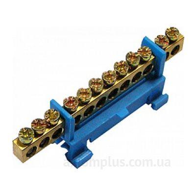 Шина (N) e.bs.stand.1.15 (15 контактов контактов) (синий цвет) фото