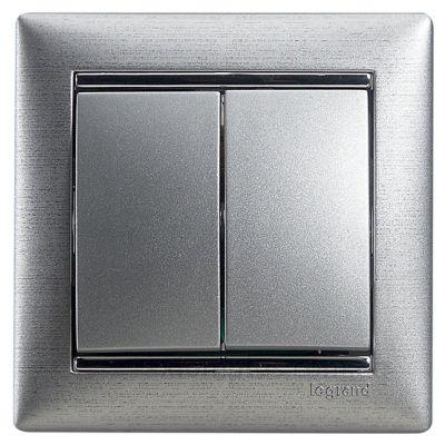 Изображение Legrand серии Valena 770105 цвета алюминий