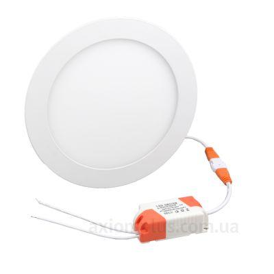 Круглый светильник белого цвета R-170-12-6400 Евросвет (38837) фото