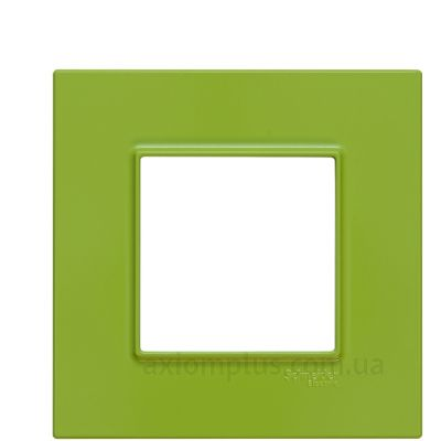 Фото Schneider Electric серии Unica Quadro MGU4.702.28 зеленого цвета