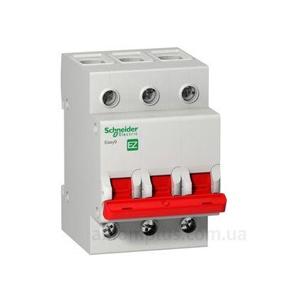 Модульный разрывной 3P выключатель нагрузки 0-1 на 100А Schneider Electric EZ9S16391
