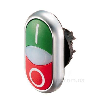 Кнопка Eaton (Moeller) M22-DDL-GR-X1/X0 (216700) красно-зеленого цвета
