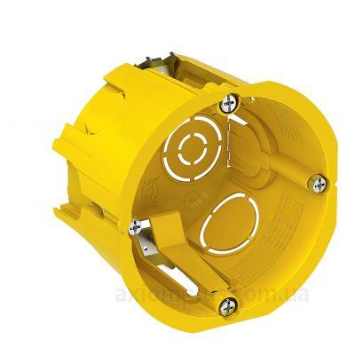 Желтый подрозетник Schneider Electric Multifix