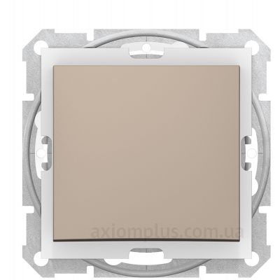 Фото Schneider Electric серии Sedna SDN0100368 титанового цвета