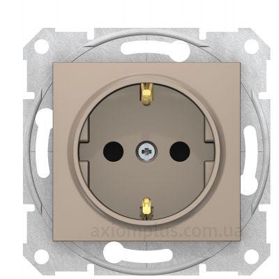 Изображение Schneider Electric из серии Sedna SDN3001768 титанового цвета