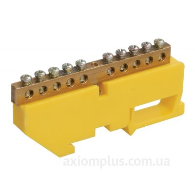 Шина (PE) ШНИ-8х12-4-Д-Ж 125А (4 контакта контактов) (желтый цвет) фото