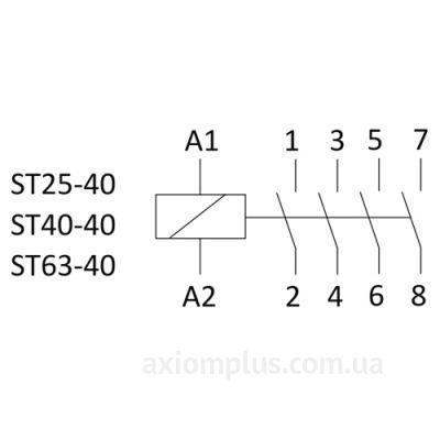 Схема ST25-40