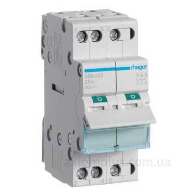 Выключатель нагрузки Hager SBN332 (32A) (0-I)